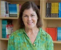 Colleen Dunn Bates bookcase