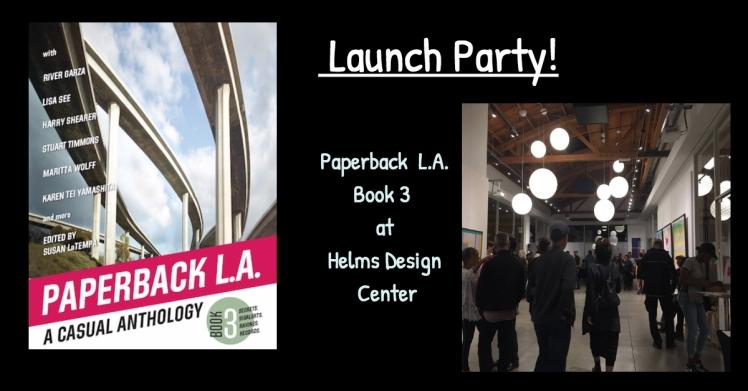 Paperback LA Book 3 launch party